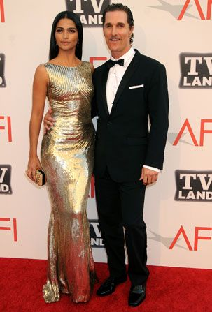 Amistad' co-star Matthew McConaughey arrives - AFI Life Achievement Award Picture