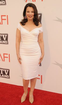 Happily Divorced&amp;#039; star Fran Drescher - AFI Life Achievement Award Picture