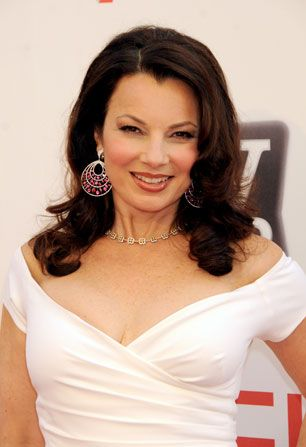Fran Drescher is a Morgan - AFI Life Achievement Award Picture