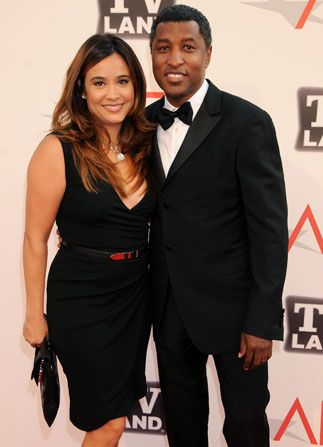 Kenneth 'Babyface' Edmonds arrives with - AFI Life Achievement Award Picture