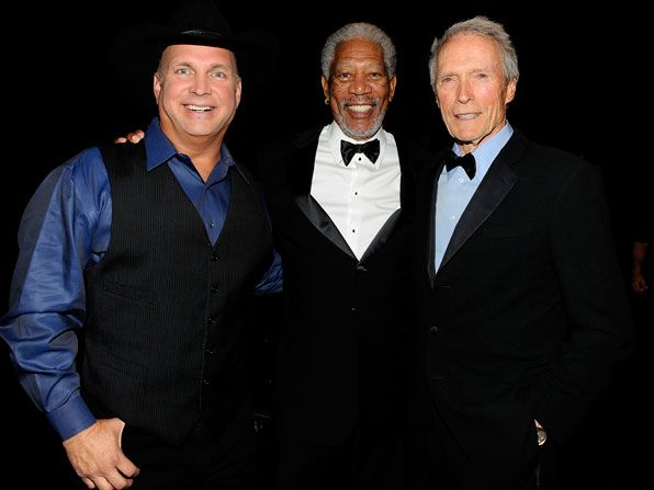 Morgan Freeman happy to be - AFI Life Achievement Award Picture