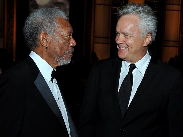 The Shawshank Redemption&amp;#039; co-stars Morgan - AFI Life Achievement Award Picture