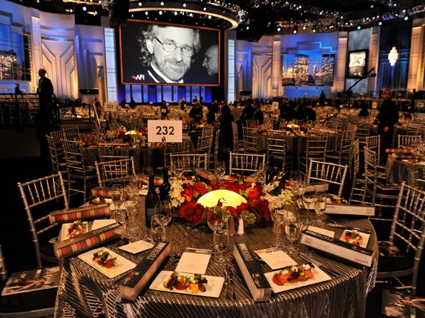 AFI Mike Nichols - tables - AFI Life Achievement Award Picture