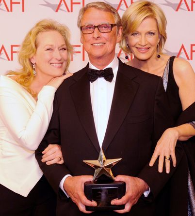 AFI Mike Nichols - Mike Nichols, Diane Sawyer, Meryl Streep - AFI Life Achievement Award Picture
