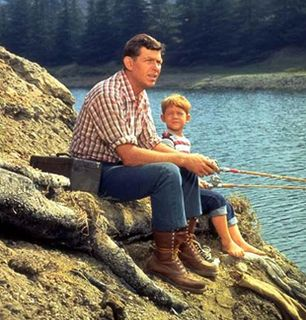 Andy Griffith and Don Knotts - The Andy Griffith Show Picture