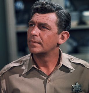Andy tries to get things - The Andy Griffith Show Picture