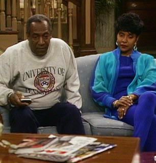 It's obviously 'Athletic Wear Sunday' - The Cosby Show Picture
