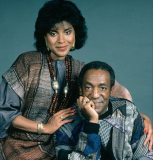 Cliff Bill Cosby and Clair - The Cosby Show Picture