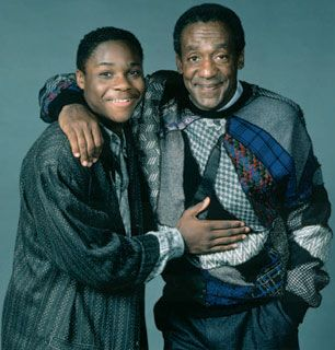 Father and Son Cliff Bill - The Cosby Show Picture