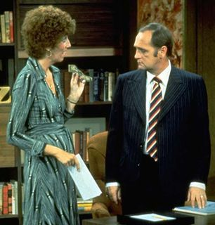 Bob discusses his schedule with - The Bob Newhart Show Picture