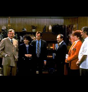 The cast of Newhart - The Bob Newhart Show Picture
