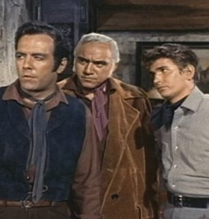 The Bonanza men are questioning - Bonanza Picture