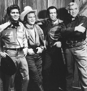 The cast of Bonanza 'Paramount - Bonanza Picture