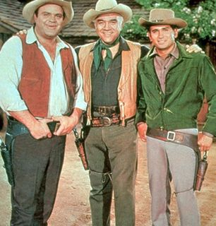 Hoss Ben and Little Joe - Bonanza Picture
