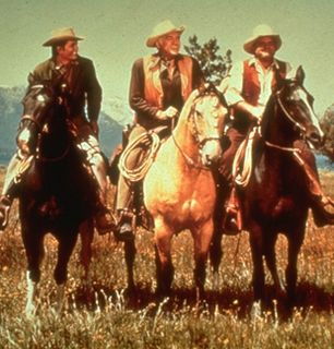 Horseback riding on the range - Bonanza Picture