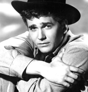 Michael Landon as Little Joe - Bonanza Picture
