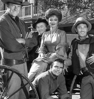 The cast of Gunsmoke in - Gunsmoke Picture