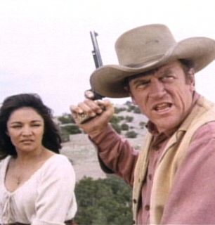 Matt is ready to defend - Gunsmoke Picture