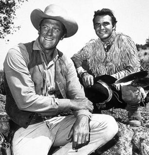 Matt Dillon and Quint Asper - Gunsmoke Picture