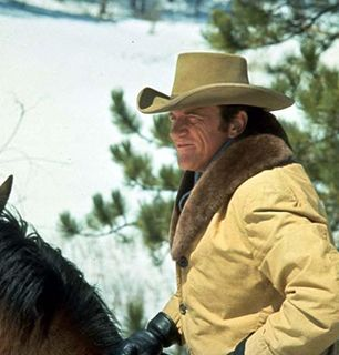 Matt on horseback - Gunsmoke Picture