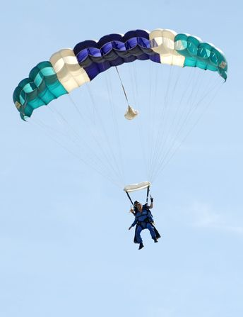 Harry decides to go skydiving - Harry Loves Lisa Picture