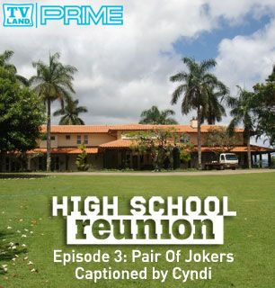 A Pair of Jokers invade - High School Reunion Picture