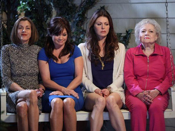 Hot in Cleveland - Wendie Malick, Valerie Bertenelli, Jane Leeves, Betty White - Hot in Cleveland Picture