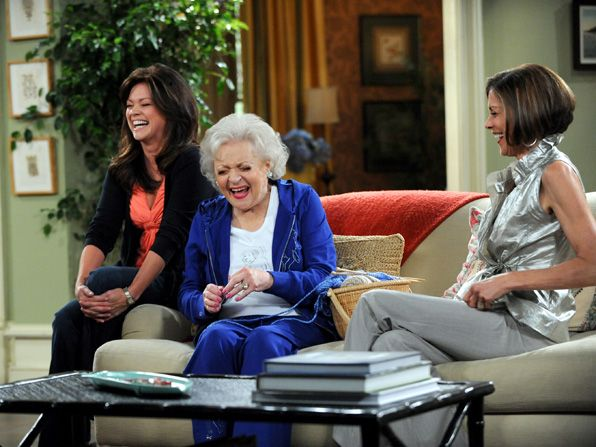 All laughs Valerie Bertinelli Melanie - Hot in Cleveland Picture