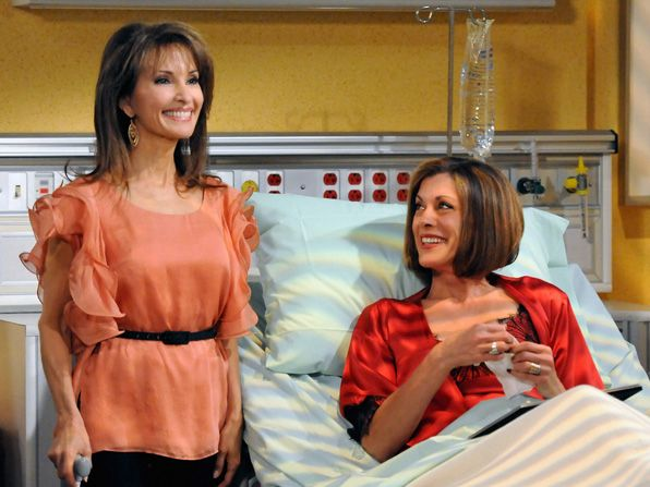 Susan Lucci was thrilled to - Hot in Cleveland Picture