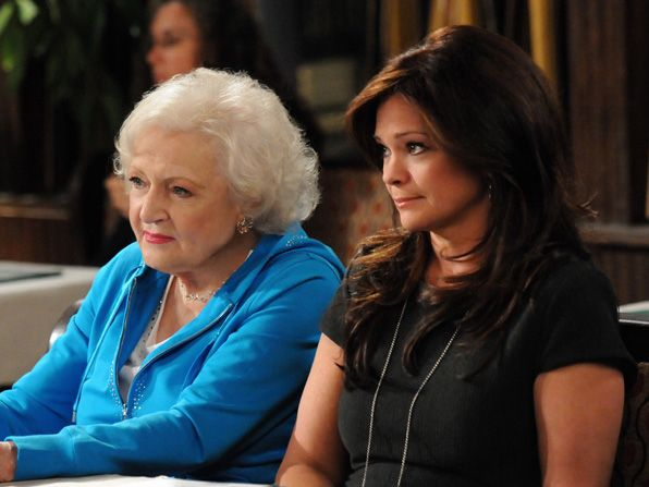 Elka Betty White and Melanie - Hot in Cleveland Picture