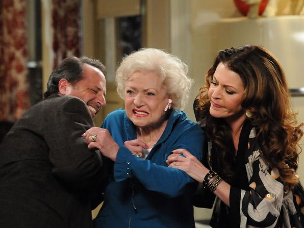 Oscar Jon Lovitz and Joy - Hot in Cleveland Picture