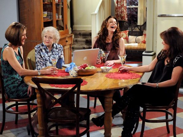The ladies laugh away Joy&amp;#039;s - Hot in Cleveland Picture