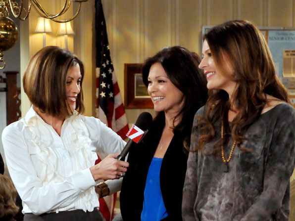 Victoria Wendie Malick plans to - Hot in Cleveland Picture