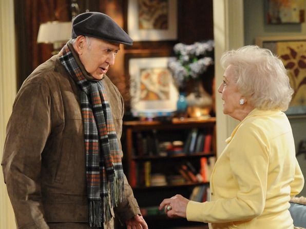 Max Carl Reiner begs Elka - Hot in Cleveland Picture
