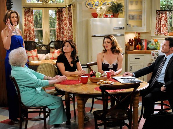 To compete with her friends - Hot in Cleveland Picture