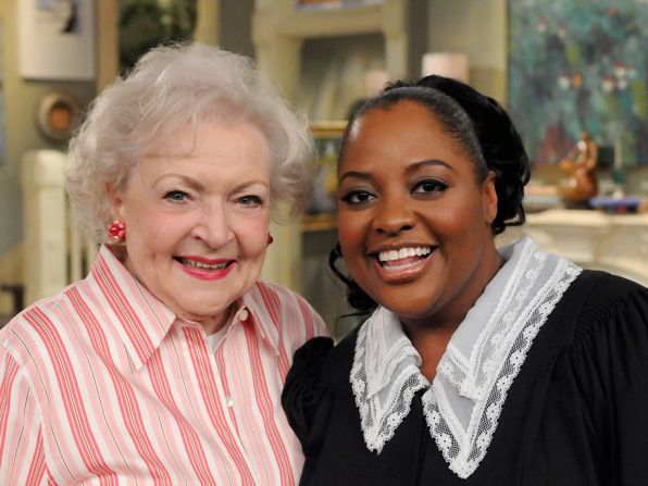 Sherri Shepherd loves working with - Hot in Cleveland Picture