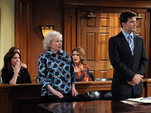 Elka Betty White Melanie Valerie - Hot in Cleveland Picture