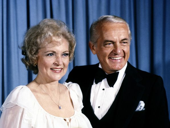 Betty White and Ted Knight - Hot in Cleveland Picture