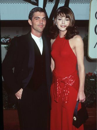 Jane Leeves with future husband - Hot in Cleveland Picture