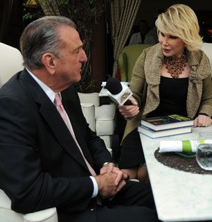 Joan finds a new victim - How'd You Get So Rich? Picture