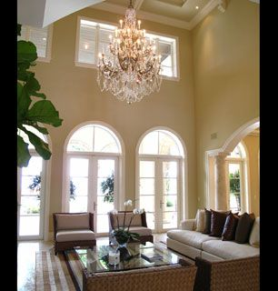 This gorgeous Venetian chandelier will - How'd You Get So Rich? Picture