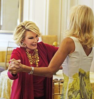 Are they real Joan checks - How'd You Get So Rich? Picture