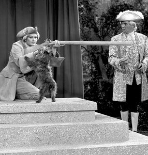 Lucy's packing heat It's Yankee - I Love Lucy Picture
