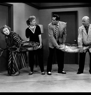 Talk about fish tales While - I Love Lucy Picture
