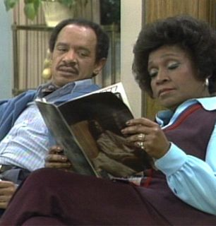 Weezy is engrossed in her - The Jeffersons Picture