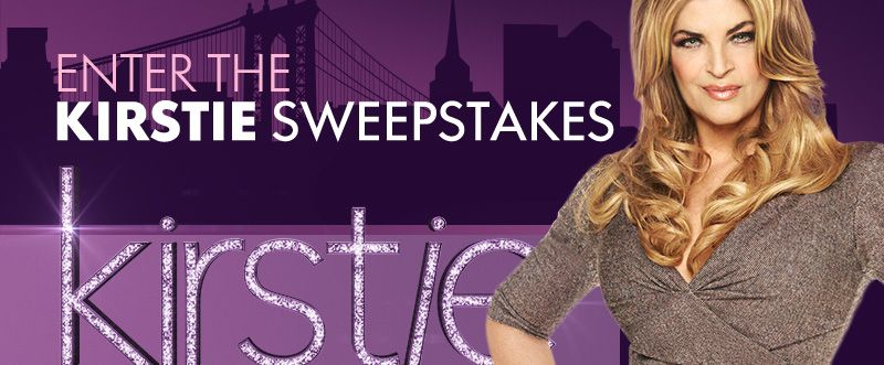 Kirstie Sweepstakes