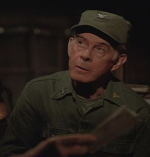 Harry Morgan as Colonel Sherman - MASH Picture