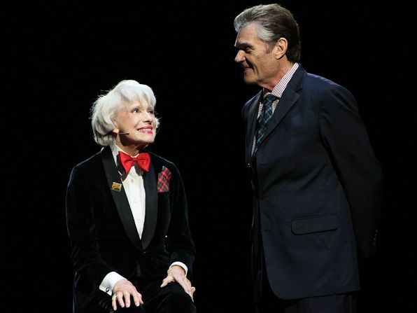 Tony award winner Carol Channing - Retired at 35 Picture