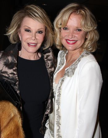 Pals Joan Rivers and Christine - Retired at 35 Picture