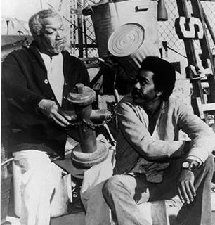 Fred and Lamont talk at - Sanford and Son Picture